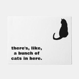 Tapete Doormat do gato