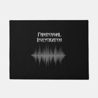 Tapete Doormat Paranormal de Soundwave do investigador