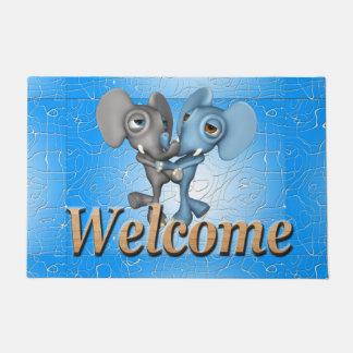 Tapete Elefantes bonitos da série bem-vinda