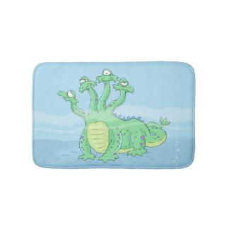 Tapete engraçado do banheiro da criatura do mar