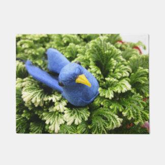 Tapete Esteira azul do pássaro