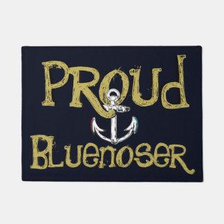 Tapete Esteira bem-vinda da âncora orgulhosa de Bluenoser