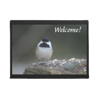 Tapete Esteira bem-vinda do Chickadee