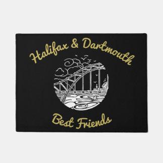 Tapete Esteira bem-vinda dos melhores amigos   de Halifax