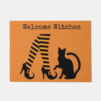Tapete Esteira de porta bem-vinda do Dia das Bruxas das