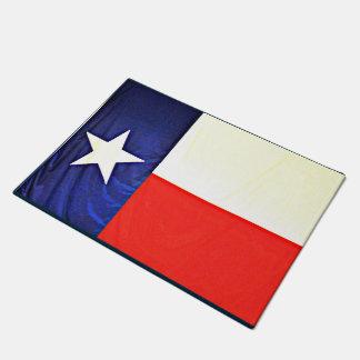 Tapete Esteira de porta da bandeira de Texas