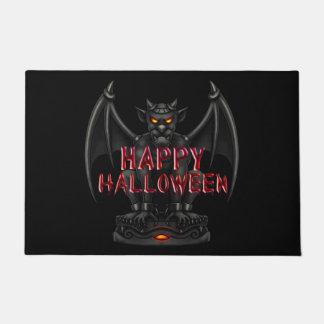 Tapete Esteira de porta do Dia das Bruxas