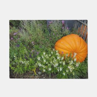 Tapete Esteira de porta do jardim da abóbora de outono