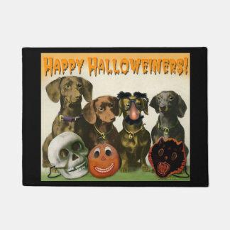 Tapete Esteira de porta feliz de Halloweiners