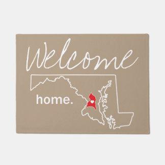 Tapete Esteira de porta Home do condado de Maryland - Co.