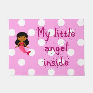 Tapete Esteira de porta para seu anjo pequeno