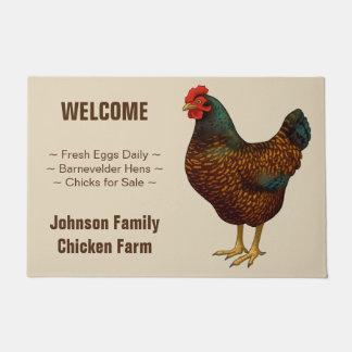 Tapete Eu amo minhas galinhas de Barnevelder