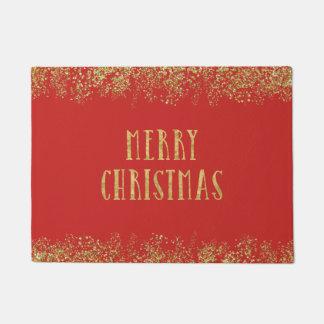 Tapete Feliz Natal cintilando elegante