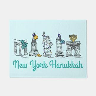Tapete Feriado de Chanukah dos marcos de New York