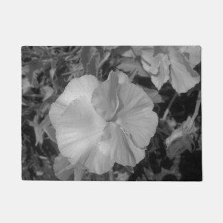Tapete Flor branca bonita
