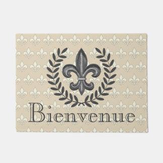 Tapete Flor de lis & louros franceses Benvinda