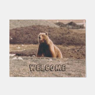 Tapete Foto da boa vinda do urso da tundra de Alaska
