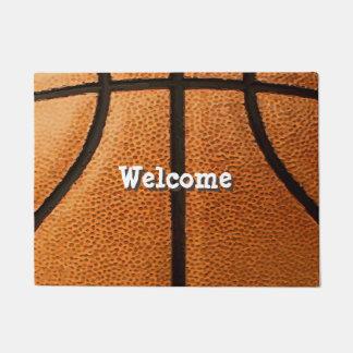 Tapete Fundo do teste padrão do impressão do basquetebol