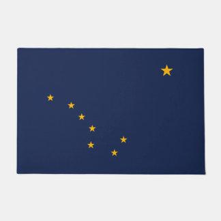Tapete Gráfico dinâmico da bandeira do estado de Alaska