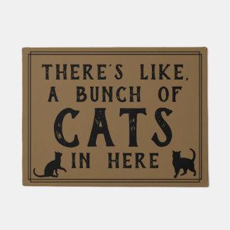 Tapete Há como, muitos gatos em aqui | Felines engraçado