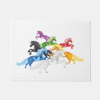 Tapete Ilustração Unic selvagem colorido