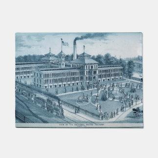 Tapete Imagem 1871 da fábrica do relógio de Elgin Elgin