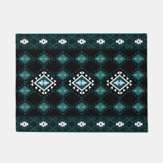 Tapete Impressão étnico geométrico do estilo do Rhombus