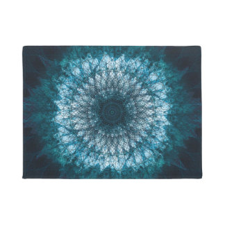 Tapete Índigo Blue Mandala