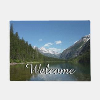 Tapete Lago avalanche mim no parque nacional de geleira