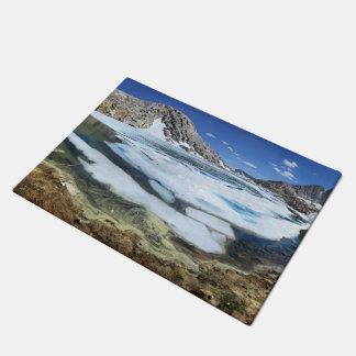 Tapete Lago congelado bear branco - serra