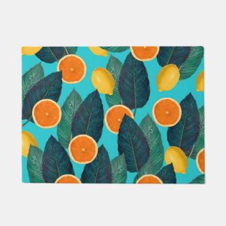 Tapete limões e cerceta das laranjas