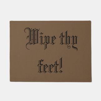 Tapete Limpe thy pés