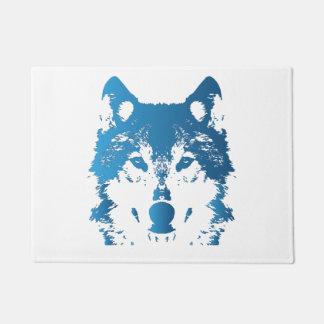 Tapete Lobo do azul de gelo da ilustração