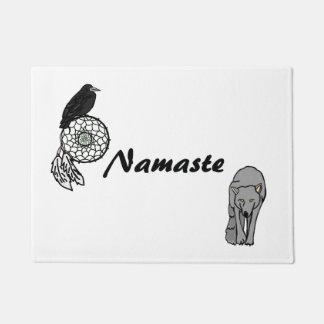 Tapete Lobo e corvo de Namaste Dreamcatcher
