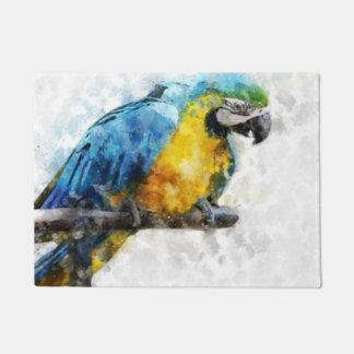 Tapete Macaw da aguarela