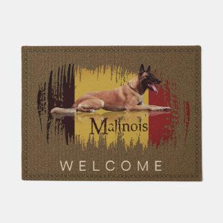 Tapete Malinois - pastor belga - Mechelaar