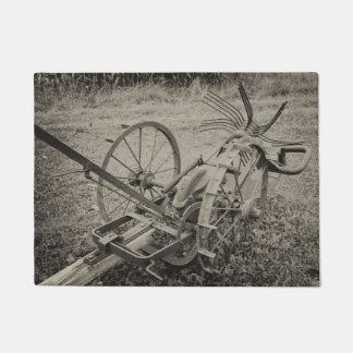 Tapete Máquina agrícola do vintage