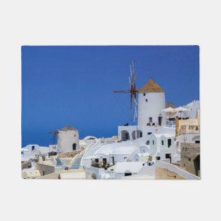 Tapete Moinho de vento em Oia, Santorini, piscina