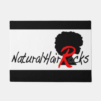 Tapete O cabelo natural balança a esteira do assoalho