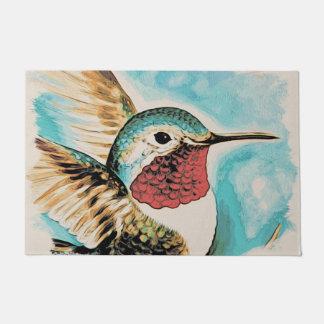 Tapete O colibri bonito da costela