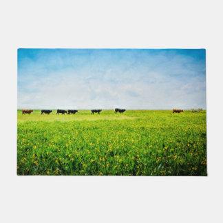 """Tapete O Doormat """"até as vacas vem em casa """""""