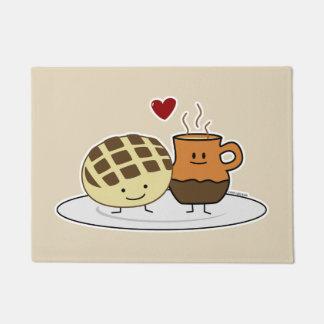 Tapete O pão doce e o chocolate quente filtram o mexicano