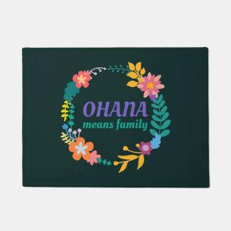 Tapete Ohana significa o Doormat da família |
