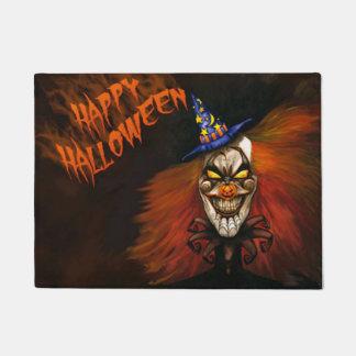Tapete Palhaço assustador feliz do Dia das Bruxas