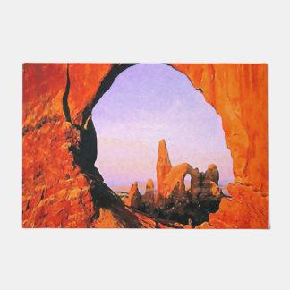 """Tapete Parque nacional 24"""" dos arcos"""" esteira de porta"""
