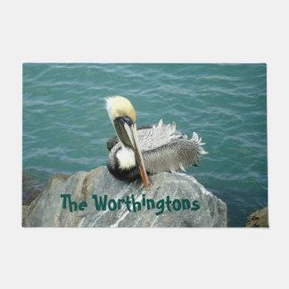 Tapete Pelicano de assento personalizado