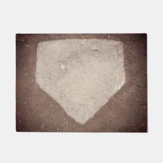 Tapete Placa Home do basebol