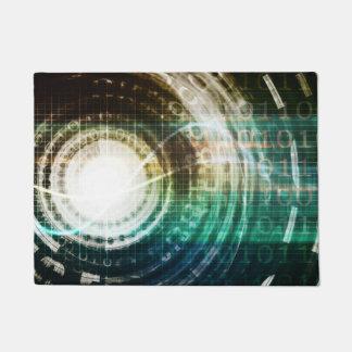 Tapete Portal futurista da tecnologia com Digitas