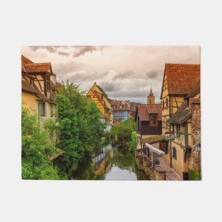 Tapete Pouca Veneza, pequeno Venise, em Colmar, France