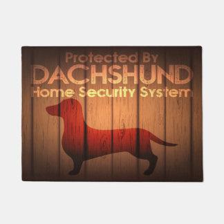 """Tapete Proteção 18"""" do Dachshund x 24"""" esteira de porta"""